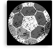 Soccer Ball with distressed look Canvas Print