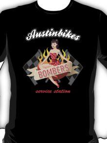 Bombers pb Austin Bikes t-shirt T-Shirt