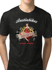 Bombers pb Austin Bikes t-shirt Tri-blend T-Shirt