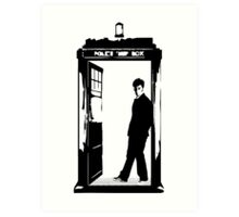 Come on Then - Dr Who Art Print