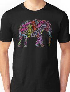 Vegan Elephant Unisex T-Shirt