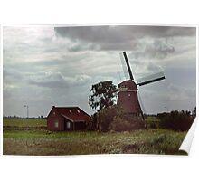 Molino de viento.... Poster