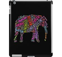 Vegan Elephant iPad Case/Skin