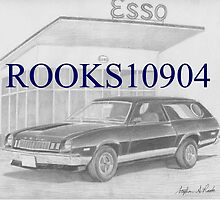1977 Ford Pinto Cruiser Wagon CLASSIC CAR ART PRINT by rooks10904