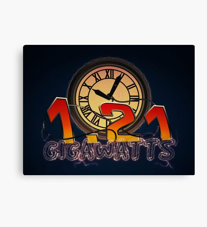 1.21 gigawhats?? Canvas Print