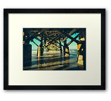 Support Staff Framed Print