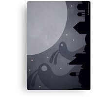 Monsters are coming! Canvas Print