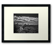 Harbinger Framed Print