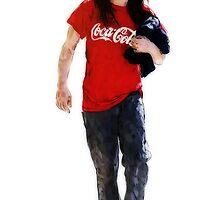 Cola Girl 2  by konart