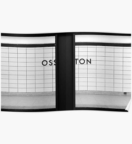 Ossington Subway Poster