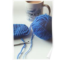 Crochet & Chai Poster