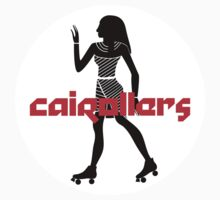 Cairollers Derby T-shirt; Isis Black Ice by Cairollers