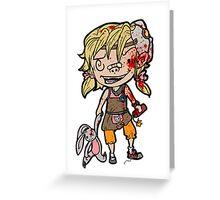 Tiny Tiny Tina Greeting Card