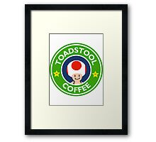 Toadstool Coffee - Themed Framed Print