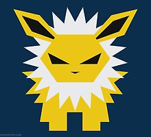 135 Jolteon by Gefemon2