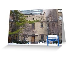 The Old Court House Greeting Card