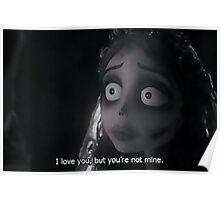 Tim Burton- Corpse Bride Poster