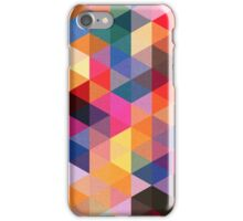 Coloured Triangles iPhone Case/Skin
