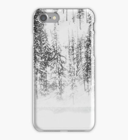 Snowy Evergreens iPhone Case/Skin