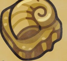 Helix University - Consult the fossil for good grades Sticker