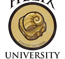 Helix University - Consult the fossil for good grades by weylend