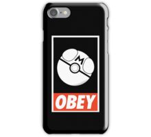OBEY Masterball iPhone Case/Skin