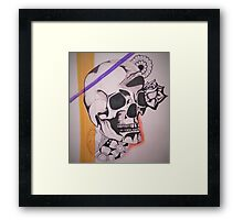 Skull Design Framed Print