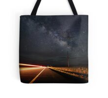 Milky Way and a Speeding Car Tote Bag