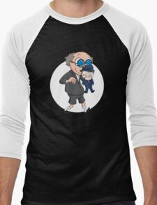 The Ventriloquist makes Scarface dance Men's Baseball ¾ T-Shirt