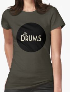 The Drums Womens Fitted T-Shirt