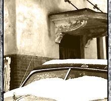 Sepia Snow by KittyMisty