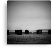 Storm-Front, Water Photography Canvas Print