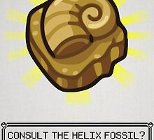 ALL PRAISE THE HELIX FOSSIL by DaveBot