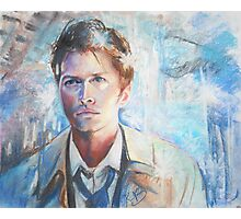 Castiel in Chalk Pastel Photographic Print