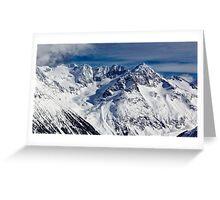 Mountains in Garibaldi Provincial Park Greeting Card