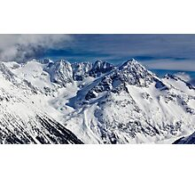 Mountains in Garibaldi Provincial Park Photographic Print