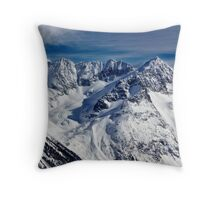 Mountains in Garibaldi Provincial Park Throw Pillow