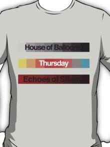 Weeknd Albums T-Shirt