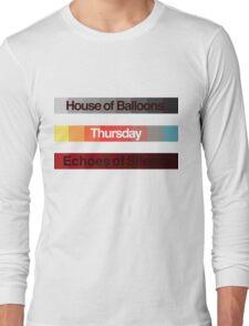Weeknd Albums Long Sleeve T-Shirt