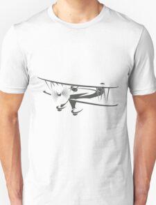 Retro Airplane Emblem  Unisex T-Shirt