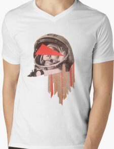 Gagarin Mens V-Neck T-Shirt