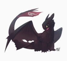 Toothless by rudragon