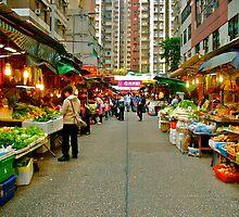 Street Market by Wesley Leong