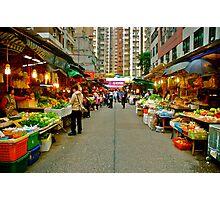 Street Market Photographic Print