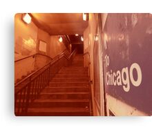 to chicago Metal Print