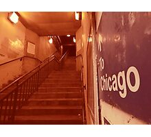to chicago Photographic Print