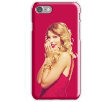 Taylor Swift Red Dress iPhone Case/Skin
