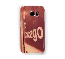 to chicago Samsung Galaxy Case/Skin