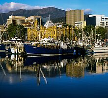 Victoria Dock, Hobart by Brett Rogers