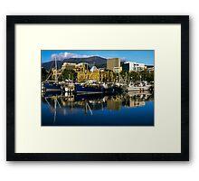Victoria Dock, Hobart Framed Print